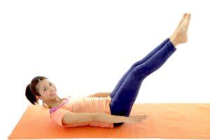 体幹トレーニングを行いバランスが崩れない体にする