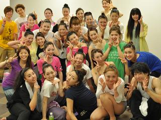 ダンサー集合写真